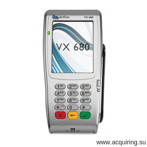 Мобильный POS-терминал Verifone VX680 (Wi-Fi, Bluetooth) под Прими Карту в Уфе